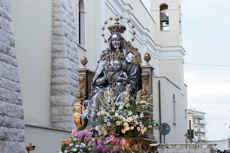 Madonna dei Miracoli. <span>Foto Riccardo Di Pietro</span>