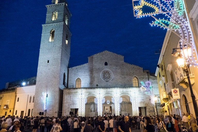 La processione dell'arrivo in Cattedrale  della Madonna dei Miracoli. <span>Foto Riccardo Di Pietro</span>