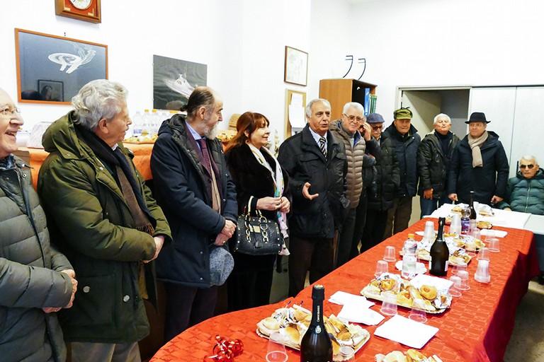 Festeggiato   il Natale dei finanzieri. <span>Foto Riccardo Di Pietro</span>