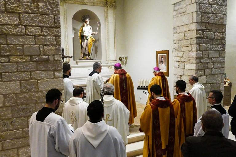 67° Anniversario Pio Transito Mons. Giuseppe Di Donna. <span>Foto Riccardo Di Pietro</span>
