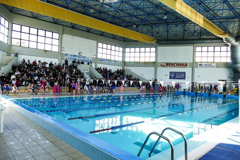 Un bellissimo giorno di cloro alla piscina comunale di Andria. <span>Foto Riccardo Di Pietro</span>