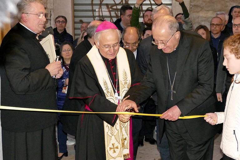 """Innaugurato i il Museo Diocesano """"San Riccardo"""". <span>Foto Riccardo Di Pietro</span>"""