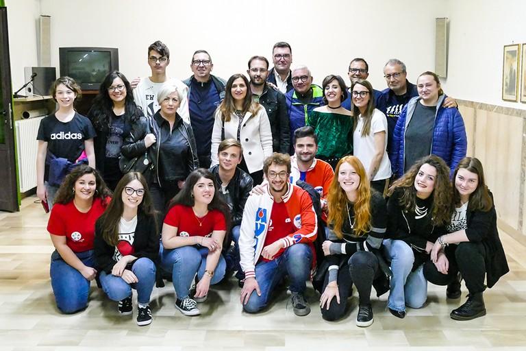 Ad Andria  Avis e Onda d'Urto uniti contro il cancro e a favore delle donazioni di sangue. <span>Foto Riccardo Di Pietro</span>