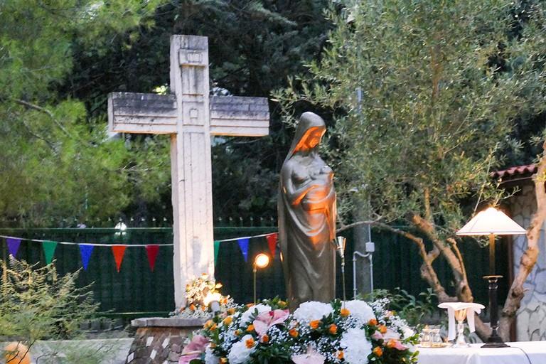 Alla contrada Abbondanza, festa della Madonna della Quercia. <span>Foto Riccardo Di Pietro</span>