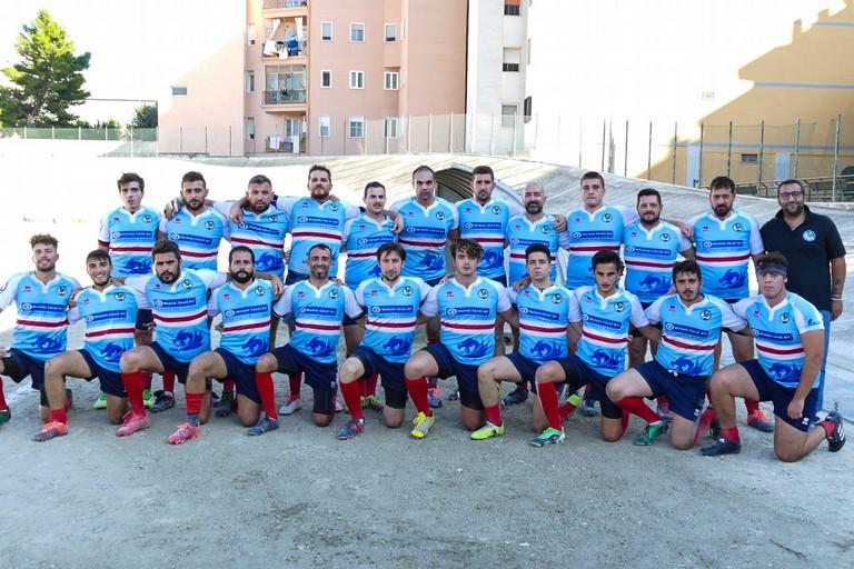 Inizio campionato di rugby, vittoria dei Draghi della Bat. <span>Foto Riccardo Di Pietro</span>