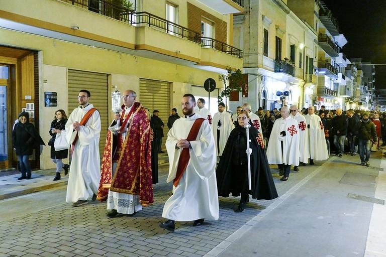 Festa liturgica della Sacra Spina di N.S.G.C.. <span>Foto Riccardo Di Pietro</span>