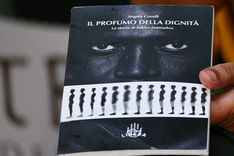 """""""Il profumo della dignità""""  alla Masseria Senza Sbarre. <span>Foto Riccardo Di Pietro</span>"""