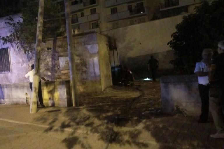 Incendio casolare abbandonato in via Ospedaletto: intervento dei VV.F.