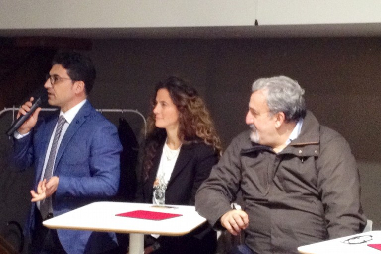 Giovanni Vurchio Assuntela Messina e Michele Emiliano