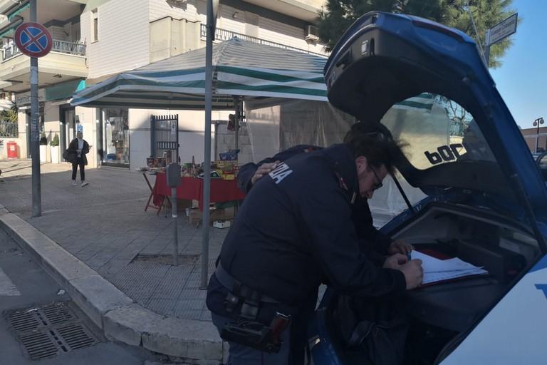 intervento Polizia di Stato Andria