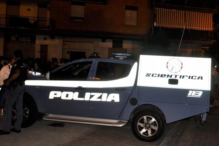 Polizia Scientifica al lavoro ad Andria