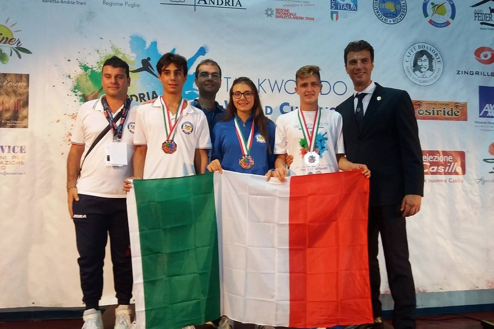 premiati ai Mondiali di Taekwondo
