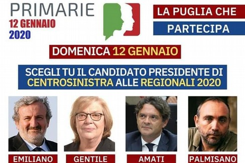 primarie centrosinistra per le regionali 2020
