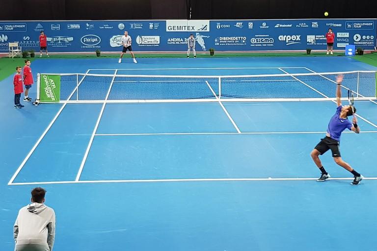 Tennis Atp Andria, in campo la testa di serie N.1