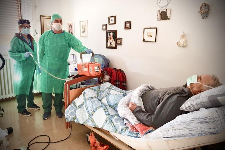 servizio di radiologia domiciliare