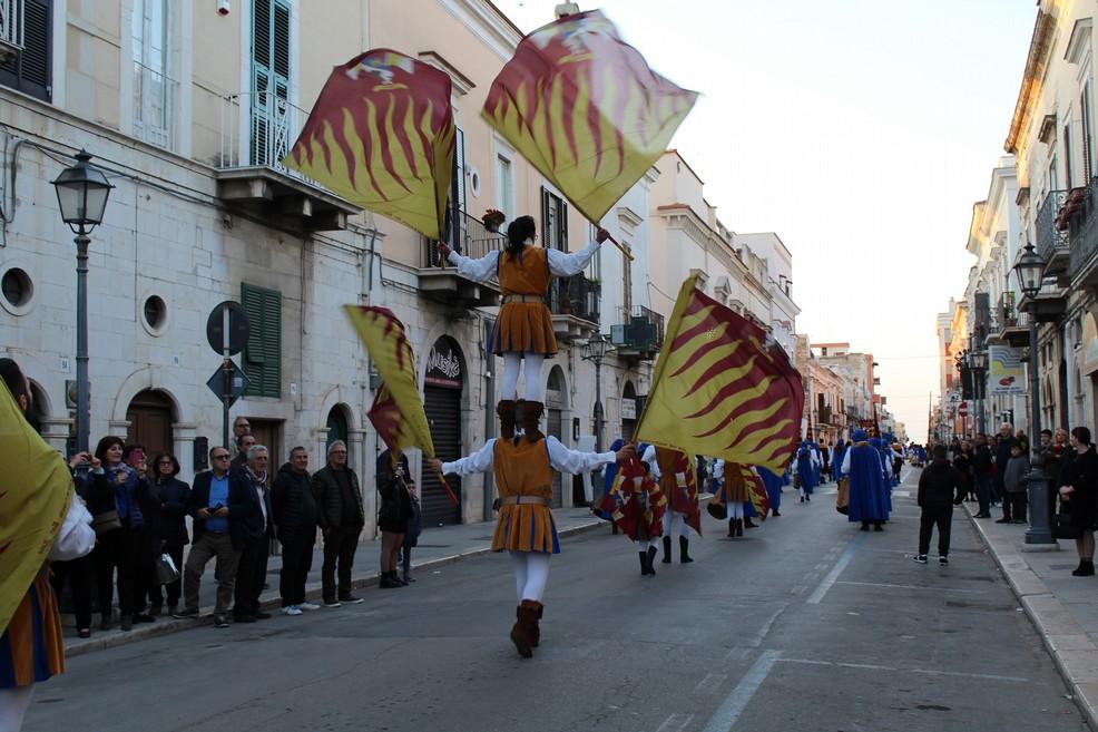 corteo storico strade di Andria