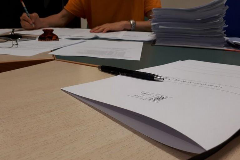 riunione presso Comune di Andria