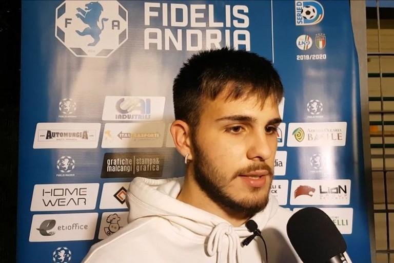 Ruben Nives, esterno classe 2000 Fidelis Andria