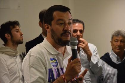 Matteo Salvini, Andria