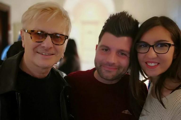 Giuseppe Lullo e Annamaria Porcelli con Ron
