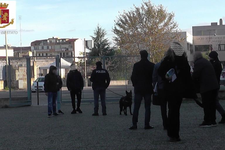 controlli antidroga nelle scuole di Andria