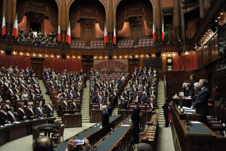 Le città del futuro: delegazione dei sindaci del pollino a Montecitorio
