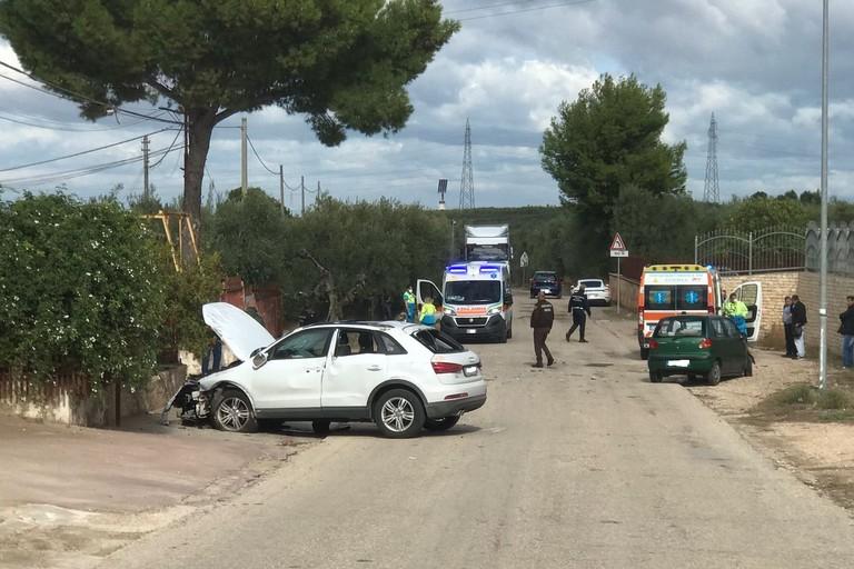 incidente stradale nei pressi della Basilica di Santa Maria dei Miracoli