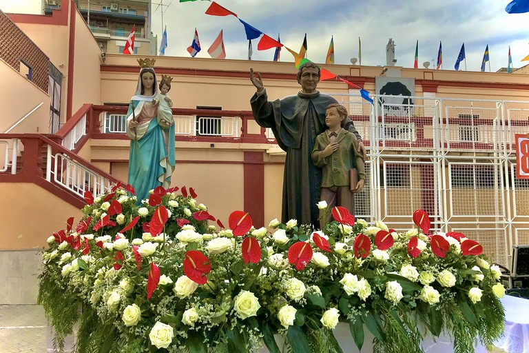 Maria Ausiliatrice, don Bosco e Domenico Savio