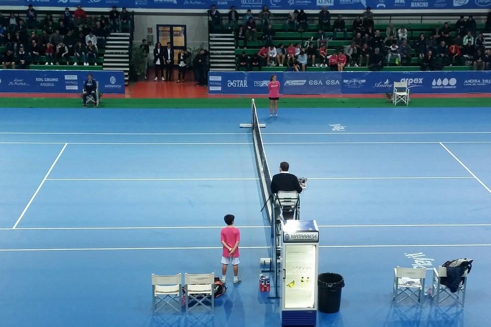 Tennis Atp Andria, ecco il tabellone principale