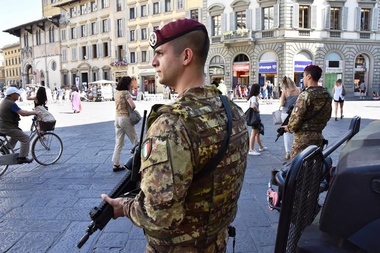 militari dell'Esercito operazione Strade Sicure