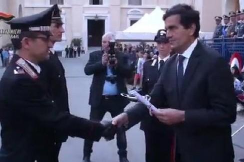 I Carabinieri di Andria premiati a Bari