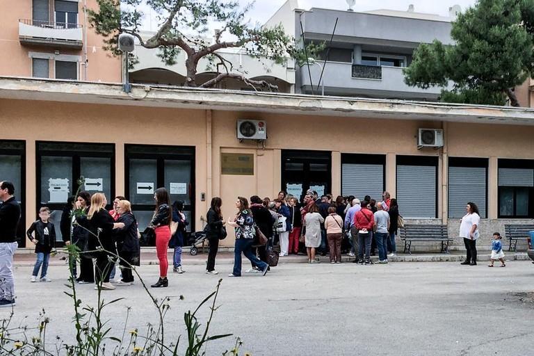 L'Ufficio Tributi di via Bari