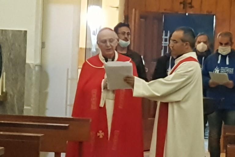 Veglia di Pentecoste con il vescovo Luigi