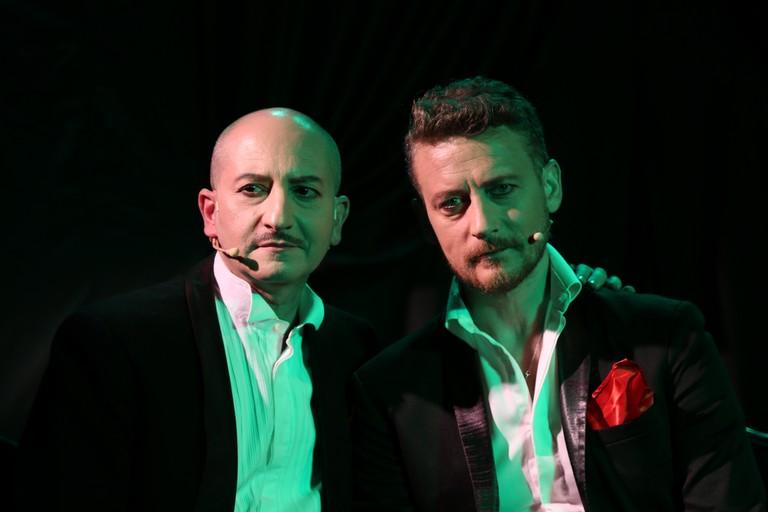 Gianluigi Belsito e Raffaele D'Ercole