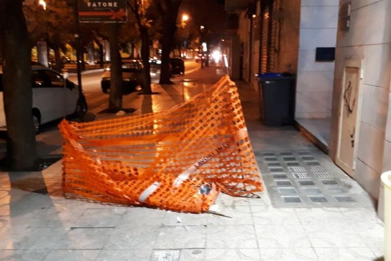 Pavimentazione sconnessa in viale Virgilio