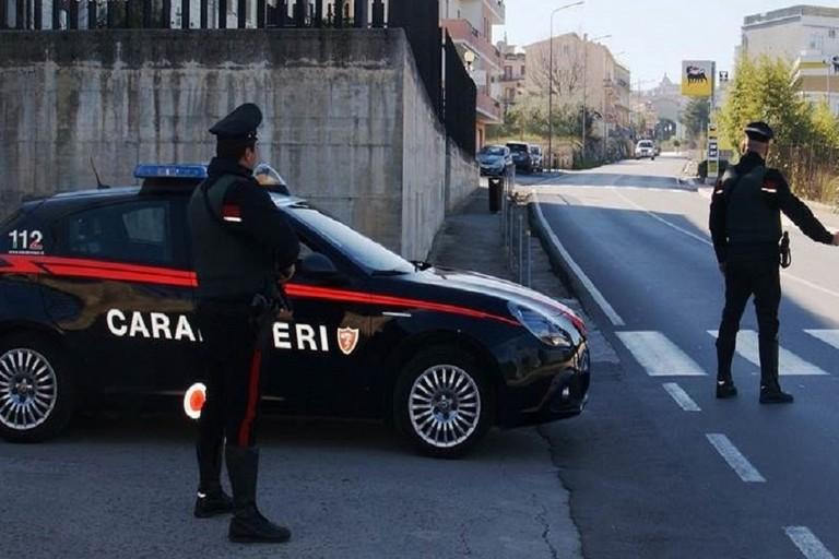 posto di controllo dei carabinieri