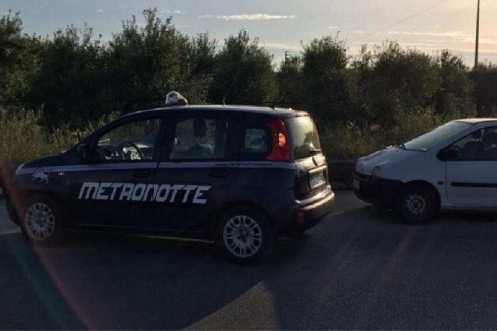 Predoni in azione sulla sp 231: intervento della Metronotte di Ruvo di Puglia