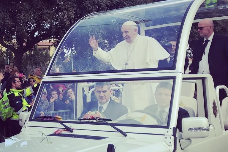 Papa Francesco da padre Pio: volontari dalla Bat a San Giovanni Rotondo