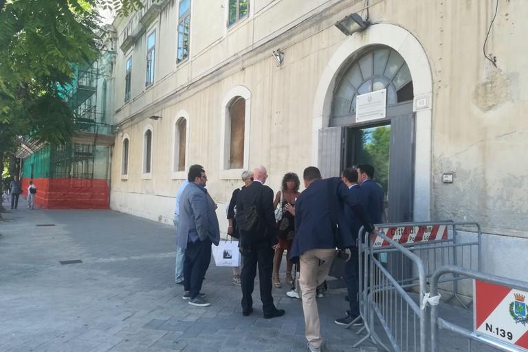 La carovana per la giustizia arriva a Trani