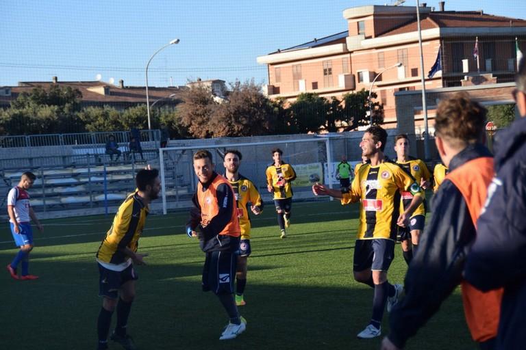 Nuova Andria corsara ad Apricena: 0-2 al Madre Pietra Stadium