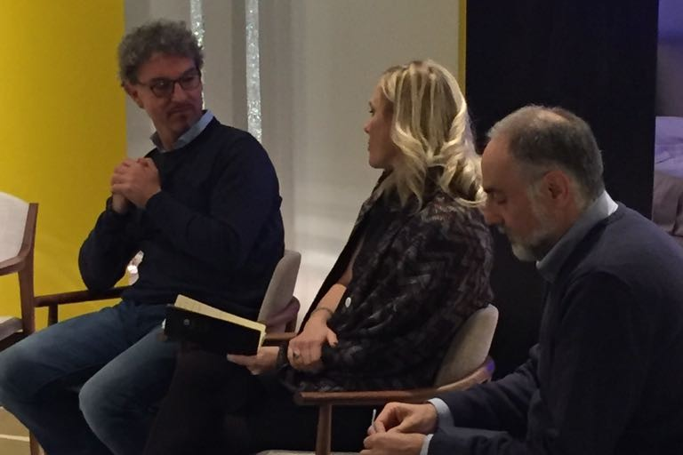 Francesco Saccente presenta alla Mastrodonato il suo libro