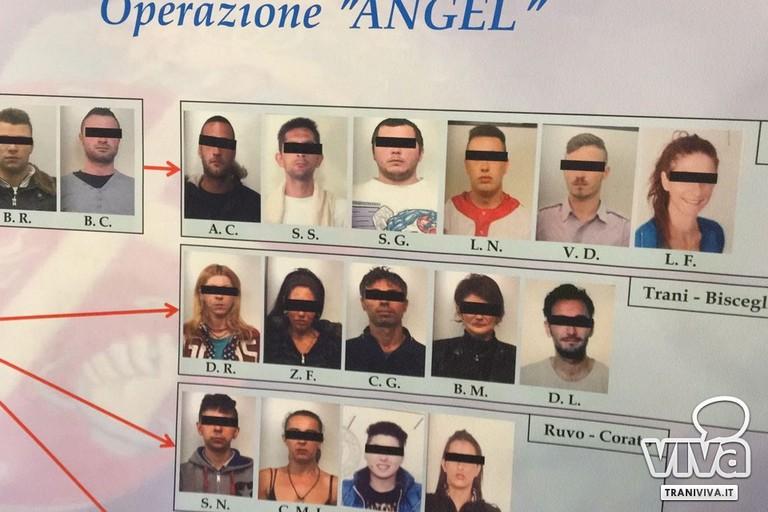 """Operazione """"Angel"""", 20 le persone coinvolte in spaccio e detenzione di stupefacenti"""