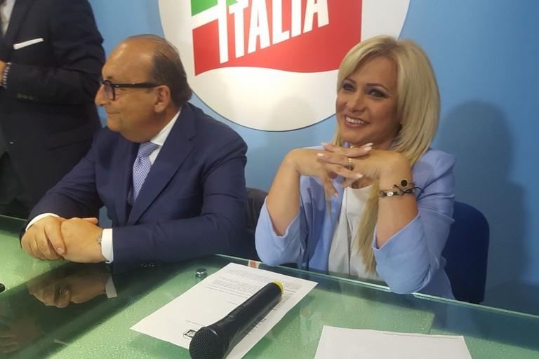 Laura Di Pilato e Luigi Vitali