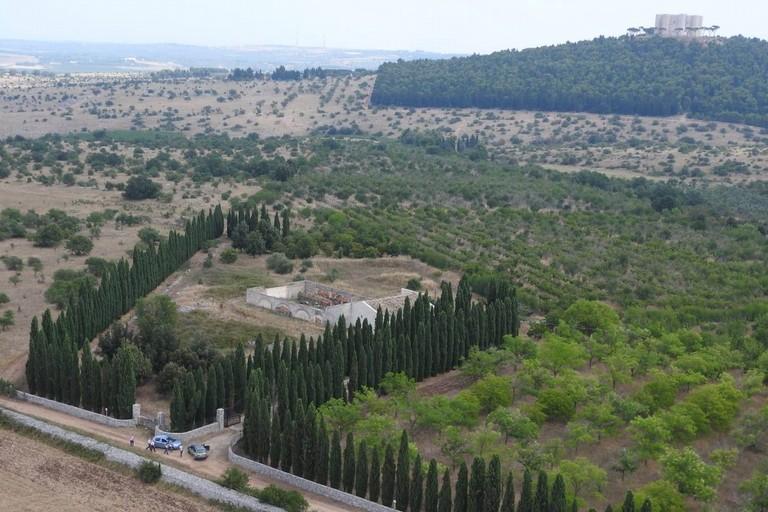 Finanza scopre piantagione di marijuana ai piedi di Castel del Monte