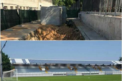 opere pubbliche, via Bisceglie e stadio Sant'Angelo dei Ricchi