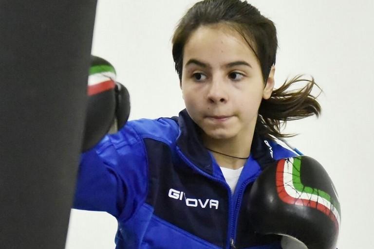 Mariagrazia Lambo, atleta del Team Sgaramella