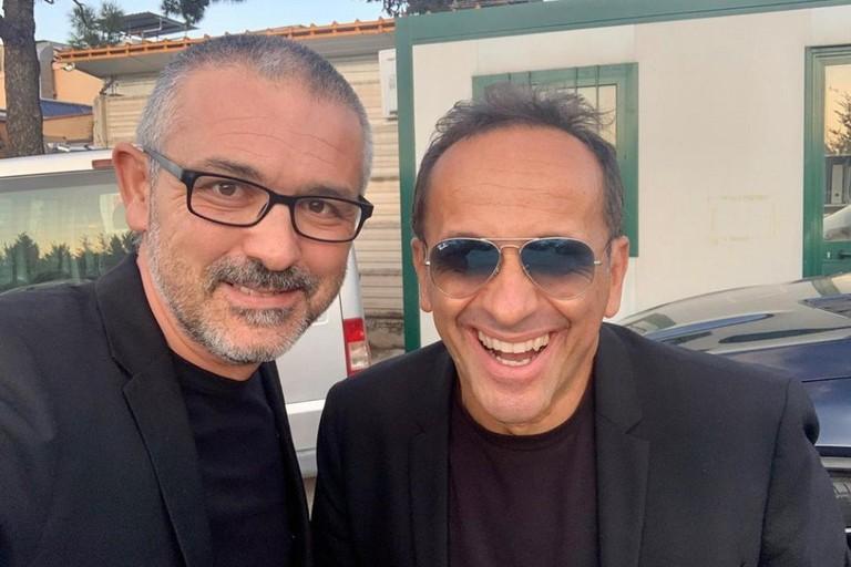 Sabino Matera e Uccio De Santis