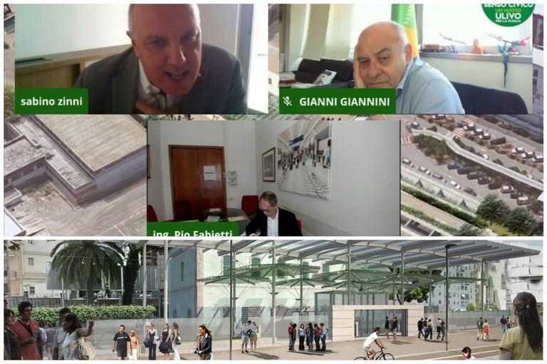 Conferenza stampa di Sabino Zinni su interramento binari