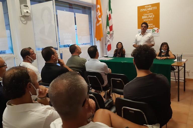 Incontro del PD con il segretario cittadino Giovanni Vurchio