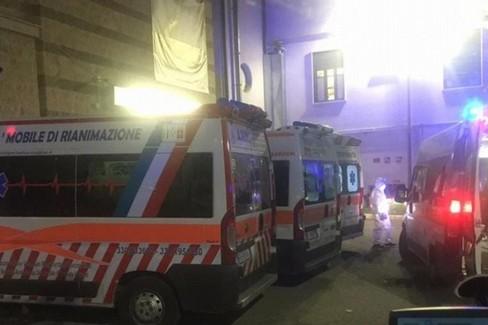Ambulanze al Bonomo